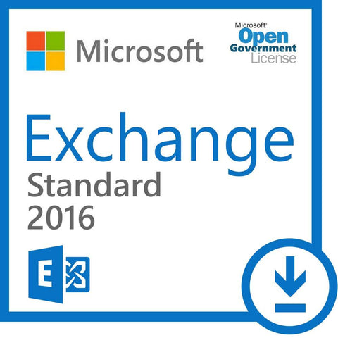 Microsoft Exchange Server Standard 2013 Open Government