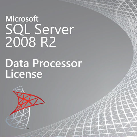 Microsoft SQL Server 2008 R2 Datacenter Processor License [USD-00017]