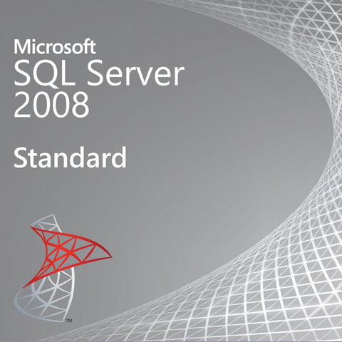 Microsoft SQL Server 2008 Standard Open License.