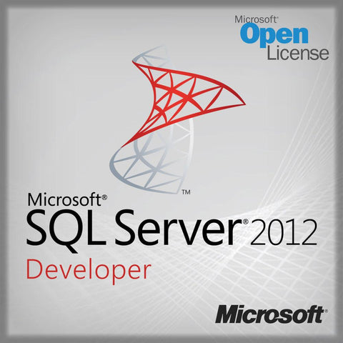 Microsoft SQL Server Developer Edition 2012 - Open License