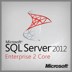 Microsoft SQL Server 2012 Enterprise 2 Core License