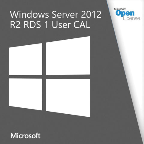 Microsoft Server 2012 R2 RDS 1 User CAL