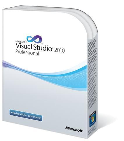 Microsoft Visual Studio 2010 Professional Edition - Box Pack