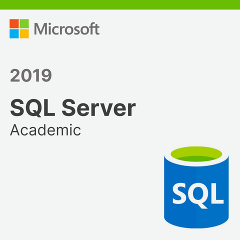 Microsoft SQL Server 2019 Standard Academic License