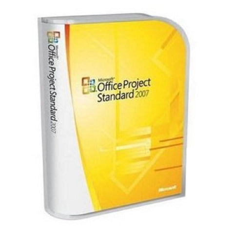 Microsoft Office Project Standard 2007 - PC - 1 PC - License - MyChoiceSoftware.com