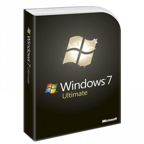 Microsoft Windows 7 Ultimate - Full License - MyChoiceSoftware.com