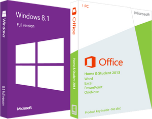 Microsoft Windows 8.1 with Home and Student 2013 - License Deal