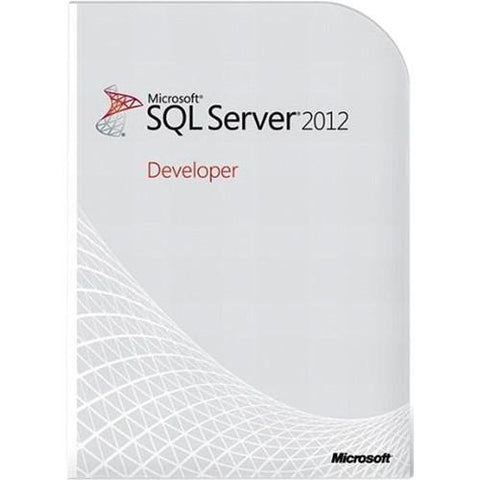 Microsoft SQL Server 2012 Developer Edition Retail Box