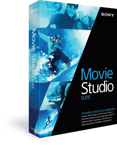 Sony Movie Studio 13 Suite - MyChoiceSoftware.com