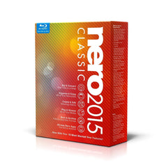 Nero 2015 Classic - PC - 1 user - MyChoiceSoftware.com