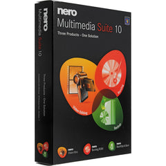 Nero 10 Multimedia Suite Retail Box - MyChoiceSoftware.com