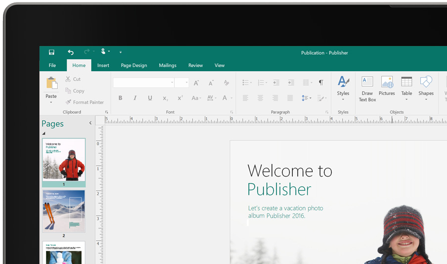 how to buy microsoft publisher 2016