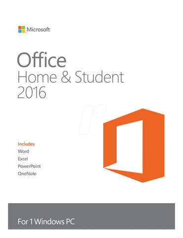 Microsoft Office 2016 Home and Student Retail Box - 1 user - MyChoiceSoftware.com