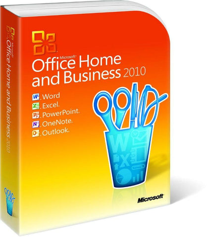Microsoft Office 2010 Home and Business Retail Box - MyChoiceSoftware.com - 1
