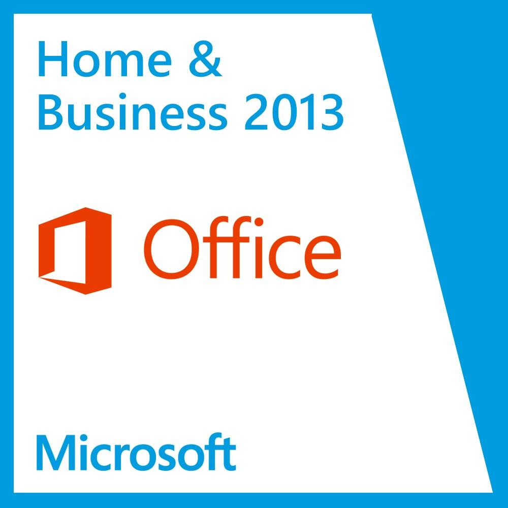 Microsoft Office Home & Business 2013 License Spanish ...