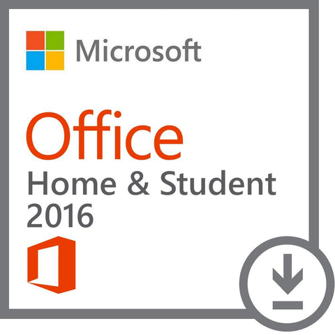 Microsoft Office Home and Student 2016 - 1 PC License