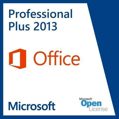 Microsoft Office Professional Plus 2013 Digital License