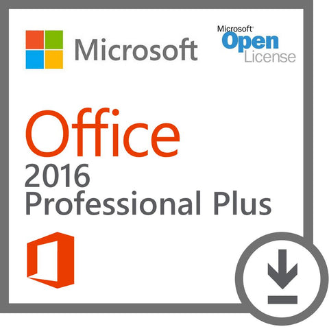 Microsoft Office 2016 Professional Plus - PC Download