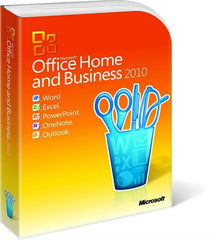 Microsoft Office Home and Business 2010 - Box Pack - 32/64 Bit - License - MyChoiceSoftware.com - 1