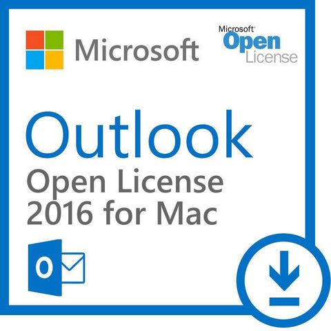 Microsoft Outlook 2016 For Mac Open License