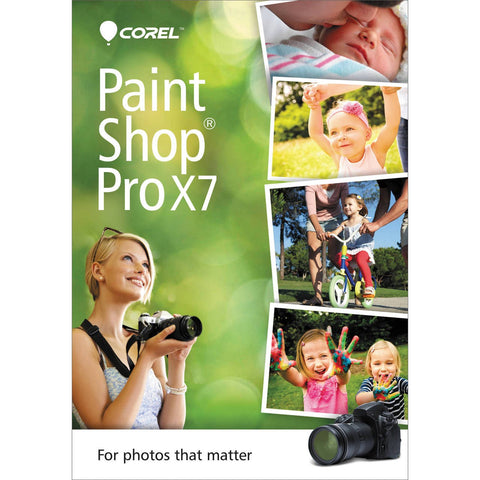 Corel PaintShop Pro X7 - PC - Retail Box - MyChoiceSoftware.com