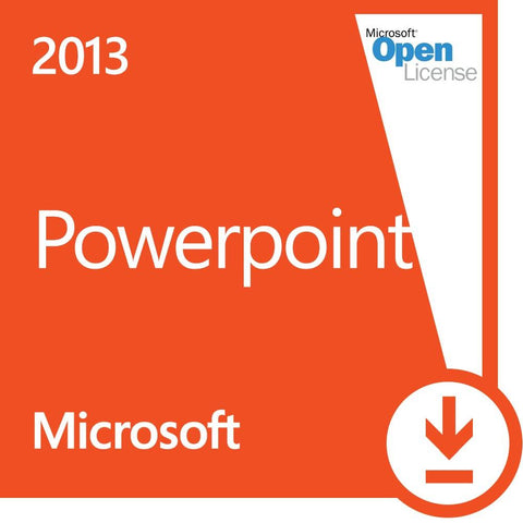 Microsoft Powerpoint 2013 Open License
