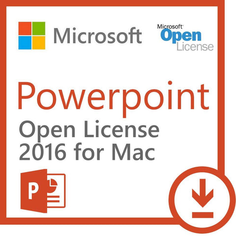 Microsoft Powerpoint 2016 for Mac - Open License - MyChoiceSoftware.com - 1