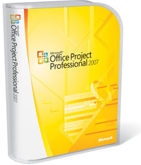 Microsoft Project 2007 Professional License - MyChoiceSoftware.com