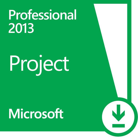 Microsoft Project 2013 Professional License + Download