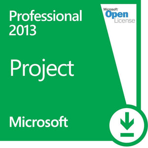 Microsoft Project Professional 2013 Open License Deal
