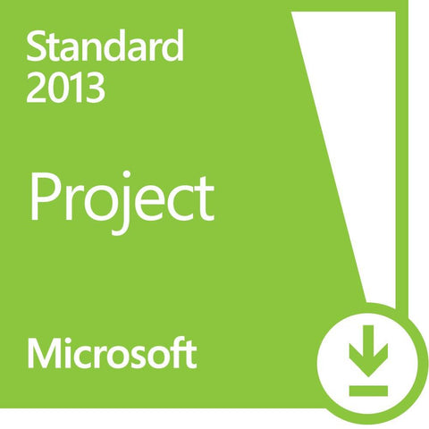 Microsoft Project 2013 Standard - Retail License