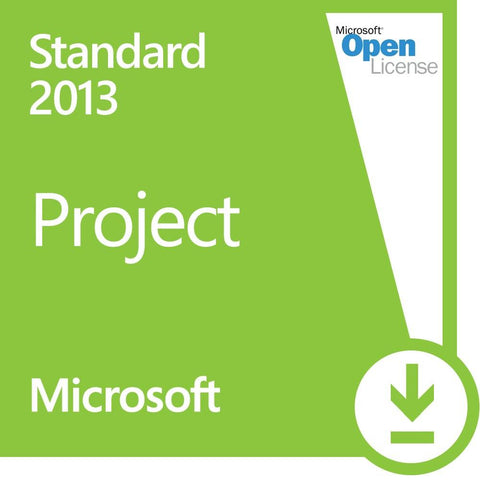 Microsoft Project 2013 Standard Open License