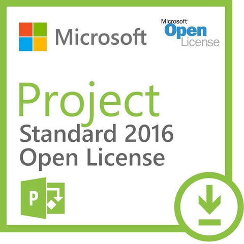 Microsoft Project Standard 2016 Academic License