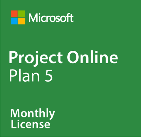 Microsoft Project Online Plan 5 - Monthly