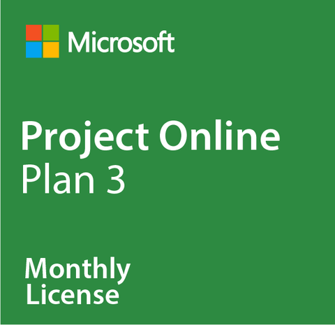 Microsoft Project Online Plan 3 - Monthly
