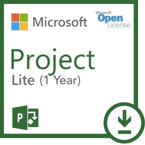 Microsoft Project Windows Lite (1 Year Subscription) 3PP-00003.