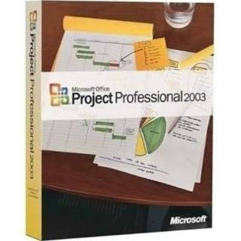 Microsoft Project 2003 Professional Retail Box - MyChoiceSoftware.com