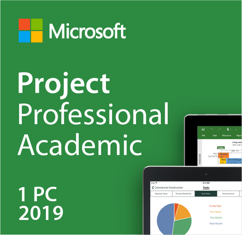 Microsoft Project Professional 2019 Academic License