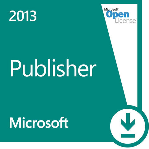 Microsoft Publisher 2013 License - MyChoiceSoftware.com