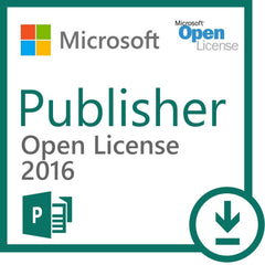 Microsoft Publisher 2016 License