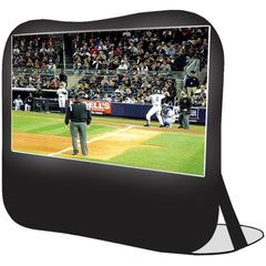 "Sima 84"" Pop-up Projection Screen - MyChoiceSoftware.com"