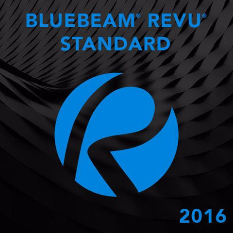 Bluebeam Revu Standard 2016.5 - 1 seat (Tier 1-4 seats)