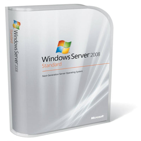 Microsoft P73-04754 Windows Server Standard 08 R2 x64 ENG DVD 5 Client License - MyChoiceSoftware.com
