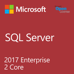 Microsoft SQL Server 2017 Enterprise 2 Core - Open License