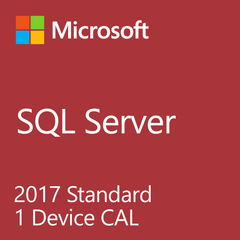 Microsoft SQL Server 2017 Standard - 1 Device Client Access License