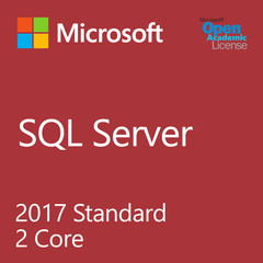 Microsoft SQL Server 2017 Standard 2 Core - Open Academic