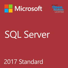Microsoft SQL Server 2017 Standard - Open Academic