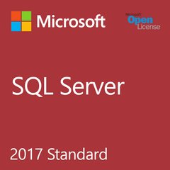 Microsoft SQL Server 2017 Standard - Open License