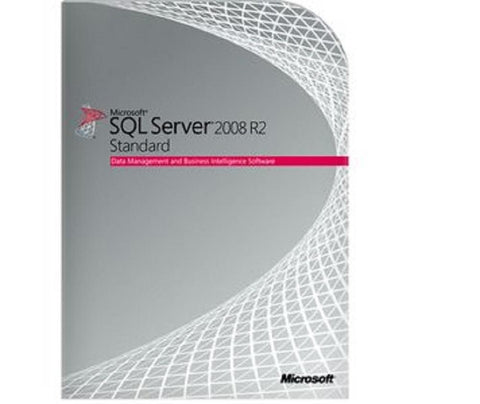 Microsoft SQL Server 2008 R2 Standard with 30 CALs - OLP/Retail [228-09180S30R2] - MyChoiceSoftware.com