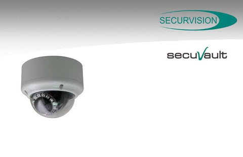 SecurVision SecuVault SS-2003D-Z3 2mp day/night Smart Focus Vandal- Proof Outdoor IP Dome Camera with IR LED and ICR - MyChoiceSoftware.com